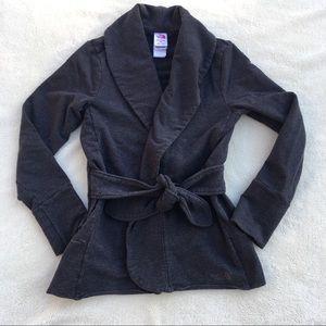The North Face Sweatshirt Cardigan with waist ties